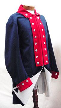 Revolutionary War Off White Wool Vest 42